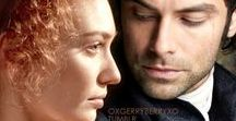 Poldark / Aidan Turner as Ross Poldark, Eleanor Tomlinson as Demelza Poldark (Carne)