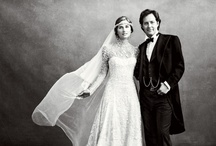 Vintage Style Celebrity Wedding Gowns