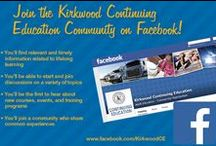 Continuing Education / Kirkwood Community College offers all types of continuing education classes - from dance to cake decorating to martial arts. Visit www.kirkwood.edu/ce for a complete list!