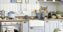 Victorian Kitchen / I'm always looking for an inspiration for my Victorian Kitchen.