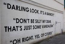 banksy <3 / by Lisanne Alder