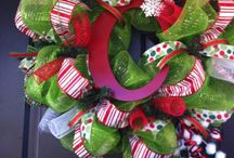 Wreaths / Deco Mesh / by Amber Curry