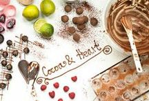 Cocoa & Heart / Small handmade business producing fresh chocolate truffles and chocolate bars, cakes and bread. Also running Bread and Chocolate Making Workshop in our Victorian Kitchen.