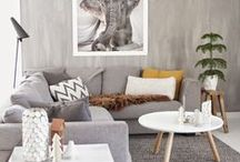 Calming Living Rooms / My living room is my calming, tranquil space to rest and relax after a long day, I love calm greys, soft fabrics and comfy seating areas. I'm also a fan of low lighting and LOTS of candles!