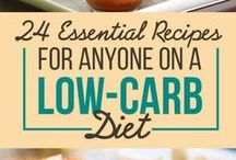 LOW CARB LIFESTYLE / Atkins diet/Low carb tips, tricks and recipes / by Donna Myers