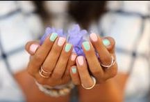 Summer Nails / Summer nails, summer manicure ideas, best nail colors for summer, pastel nails, nail design ideas