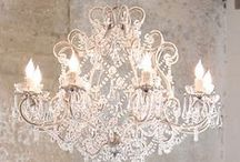 Stunning Chandeliers / A collection of beautiful chandeliers we dream of having!