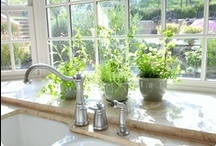 Kitchen - Bright White / Kitchen photographs that inspire me. These kitchen make me feel happy!