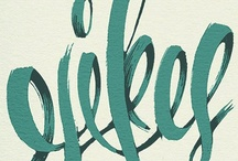 Typography  / by Cindy Peterson