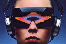 MyCiberPunk / Mi propia versión de CiberPunk Futurismo.Máquinas.Moda.Ilustración.Sueños