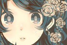 Anime Illustration Manga / Ilustración con estilo anime o manga