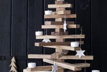 Modern Holiday / Modern holiday decor and Christmas decorating ideas.