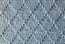 Handwork - Knitting - Stitches - Knit and Purl / by Linda Darby