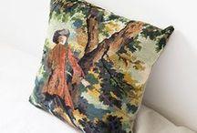 coussins/cushions / Des coussins