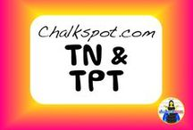 TN and TPT: Chalkspot Teacher Store / Welcome to my board! These are teacher resources I sell on Teachers Pay Teachers and Teachers Notebook! I also sell these products on my website, Chalkspot.com.