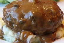 beef, pork. chicken, fish & seafood / by Wavie Jones