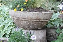 Flowers , Plants , Planters and such / by Crow's Primitives