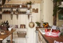 Kitchen's , tablescapes , Old items / by Crow's Primitives
