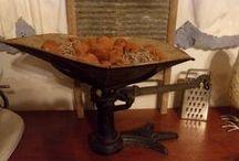Primitives , Antiques & Old decor / by Crow's Primitives