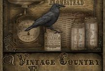 My Blogs / by Crow's Primitives