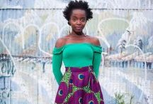 Africa / There is some wonderful vlisco fabric in my stash...