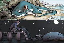 Stories / Human stories. Cartoons.