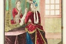 XVIIe - Robe à la Mantua