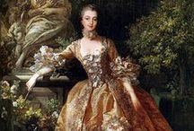 XVIIIe - Robe à la française / Sack dress