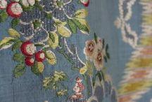 XVIIIe - Tissus / Fabric