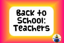 Back to School: Teachers / Products to start off a great school year from Chalkspot.com and other teacher sellers on Teachers Notebook and Teachers Pay Teachers!