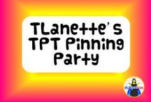TLanette's TPT Pinning Party / Pins from fellow teacher authors who sell their products on Teachers Pay Teachers. I started this board to give TPT authors another way to market their products. If you would like to join our board, please let me know at TLanPollard@comcast.net!