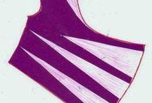 patternmaking: cowl neck / hoodie