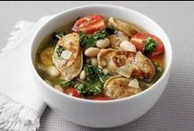 Heart Warming Soups & Stews / Healthy soup & stew recipes to enjoy together on a chilly day indoors.  Recipes both created by Nutrition Nuptials and recommended from other sites.