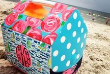 Igloo Art / While the art always varies, the canvas stays exactly the same - an Igloo Cooler.