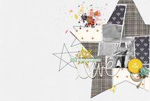Scrapbook inspiration / by Pamela Shaw