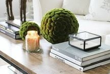 Coffee Table Styling / How to make a coffee table look glam and finished. #coffeetable #styling