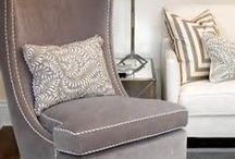 Taupe, Greige and Mushroom Interiors / New neutrals for modern living. Taupe, greige and mushroom have replaced grey as a neutral base and are sky-rocketing in popularity. These warm shades are perfectly placed for any space and can be dressed up or down but stay ever-classy.