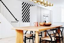 Townhouse Style Interiors / Stairs and levels galore - how to celebrate a city pad in style!