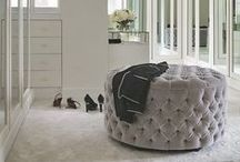 Dream Master Bedroom Interiors / Bedroom meets lounge meets dressing room meets walk in wardrobe meets en suite....