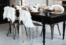 Dining Room Table Ideas / The hub of the home - and a little bit gorgeous!