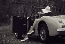 heels on wheels / women and their cool cars