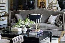 Regency Style Interiors / Glamour