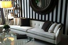 Striped Interiors / Stripey fun!