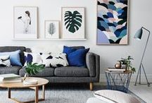 Art | Gallery | Walls / Art collected and displayed in groupings