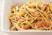 Recipes - Pasta Entrees and Sides / by Michelle Schwartz