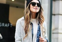 Street Style Fashion / What to wear for a casual, comfy but stylish day about town...