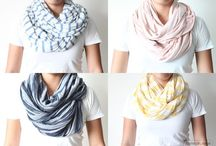 DIY - What to Wear / Upcycle and DIY clothes, scarves, etc / by Karina Lindsey