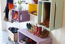 DIY-Home-Decoration / Do it yourself ideas, furniture, decoration, decor, wood, home, house, colored