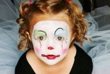 Painted Faces / by Kathy Kaysen Oaks