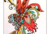 .~Tangled Art~. / by Kathy Kaysen Oaks